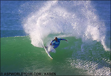Slater at Jeffreys Bay