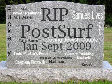 RIP Postsurf